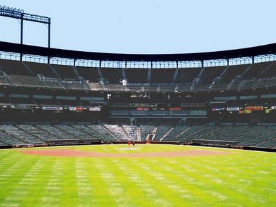 Oriole Park Centerfield View