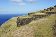 Orongo Ruined Ceremonial Village - Easter Island - Chile