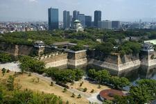 Osaka Castle Full View
