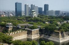 Osaka Castle Genral View