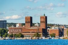 Oslo City Hall From Sea