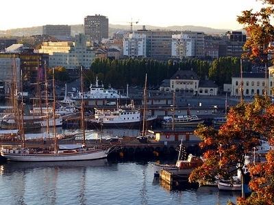 Oslofjord Piers In Oslo