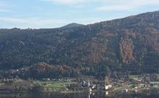 Ossiach Town, Carinthia, Austria