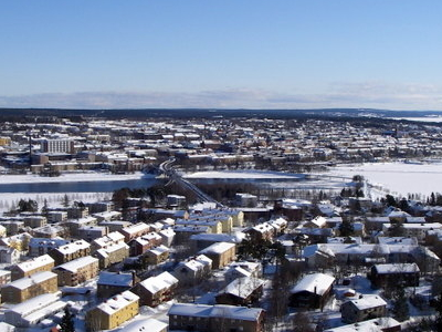 Ostersund From  Froson