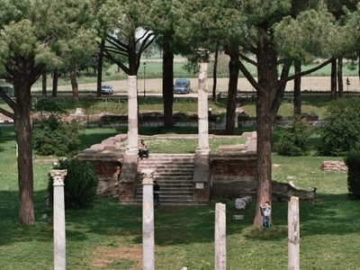Marketsquare Of Ostia Antica