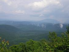 Ouachita Mountains In Oklahoma.