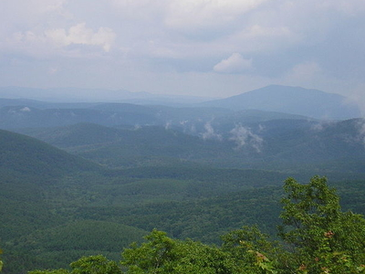 Ouachita Mountains In Oklahoma.