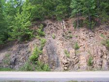 Ouachita Mountains Rock Outcrop