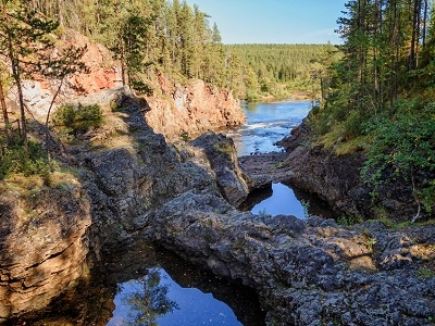Oulanka National Park River & Pond - Finland