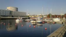 Oulu Harbour In Finland