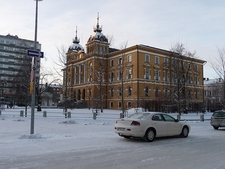 Oulu Town Winter View - Finland