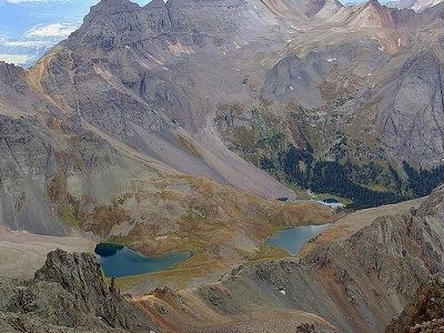 Ouray Lakes - Mount Sneffels Wilderness CO