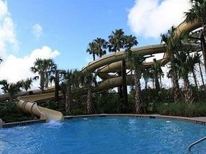 Outdoor Pool - Water Slides
