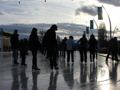 Stuart Park Outdoors Skate Rink