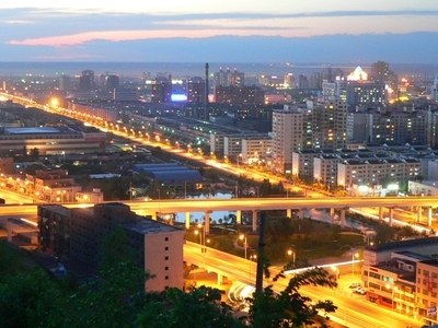 Urumqi At Night