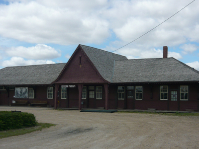 Former Train Station Outlook And District Heritage Museum