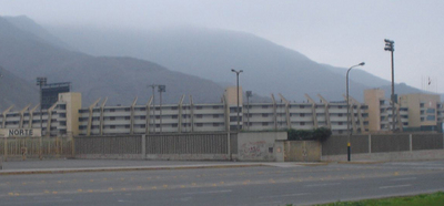 Outside Estadio Monumental