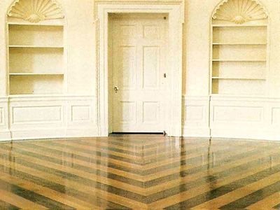 Oval Floor