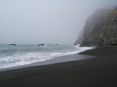 Overcast Skies At Needle Rock Beach