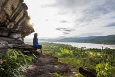 Overlooking Pah Team National Park