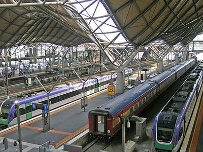 Overlooking Platforms 6,7,8