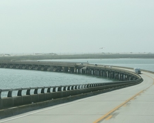 Over Oregon Inlet/Bonner Bridge NC Outer Banks