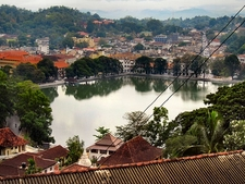 Overview Across Kandy Lake