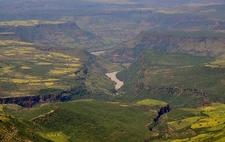 Overview @ Blue Nile Gorge ET