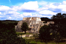 Oxkintok At Yucatán - Mexico