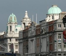 The Imposing Buildings Of Lower O'Connell Street