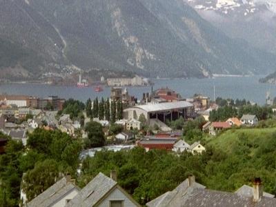 Odda   Hardangerfjord
