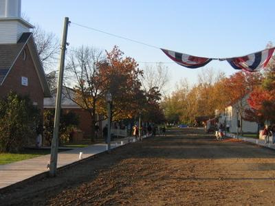 Ohio Village In The Fall