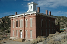 Old Nye County Courthouse In Belmont