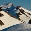 Old Snowy Mountain In Goat Rocks Wilderness