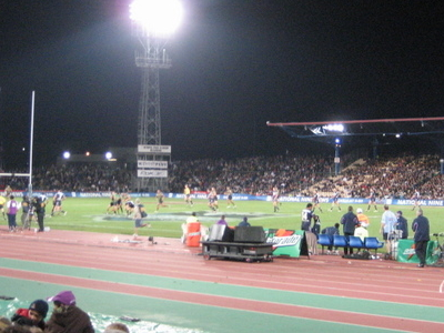 Match At Olympic Park