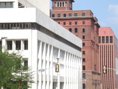 Omaha National Bank Building At The Base Woodmen Tower