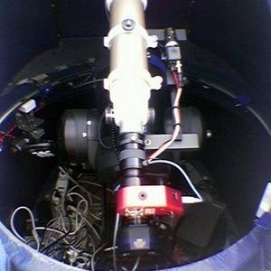 Orioloromano Observatory Interior