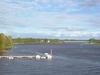 Oulujoki River In Laanila Oulu