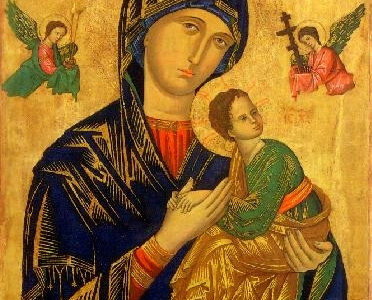 Our Lady Of Perpetual Succour Picture From Rome