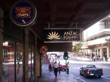 Outside Anzac Square Arcade Edward Street