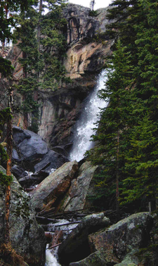 View Of Ouzel Falls
