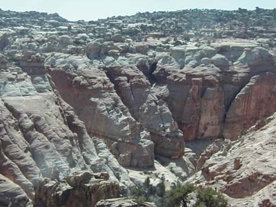 View Of Cohab Canyon