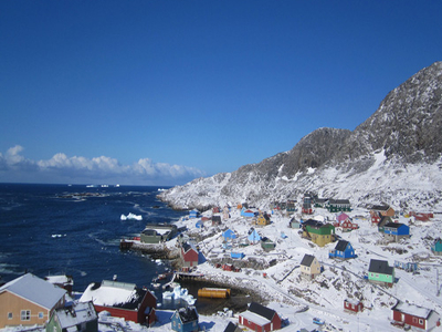 Paamiut Town Greenland