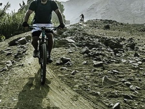 Mountain Bike in Lima Valley