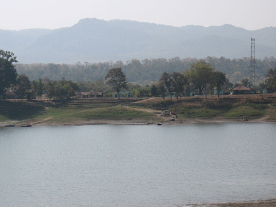 Pachmarhi Landscape With Lake