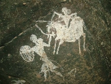 Pachmarhi Rock Art Painting