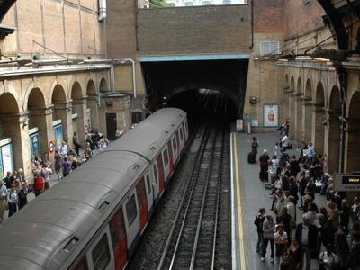 Circle And District Line Platforms