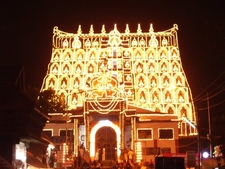 PadmanabhSwamy Temple During Laksha Deepam