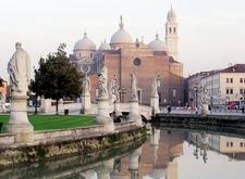 The Basilica Of Santa Giustina As Seen From The Prato