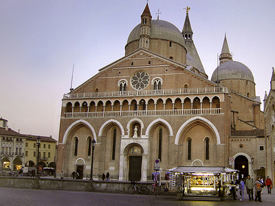 The Basilica Of Saint Anthony Of Padua